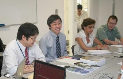 Susumu Saito, Dapeng Cai, Sylvia Dantas and Richard Meckien