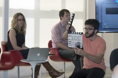 Nikki Moore, David Gange and João Menna Barreto