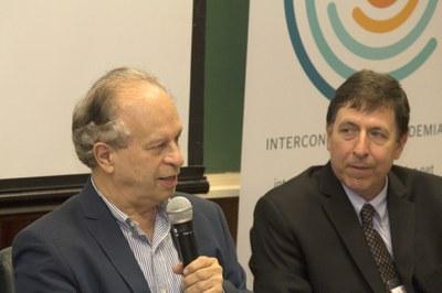 Minister Renato Janine Ribeiro and José Eduardo Krieger
