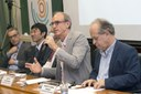 Carsten Dose, Dapeng Cai, Martin Grossmann and Minister Renato Janine Ribeiro