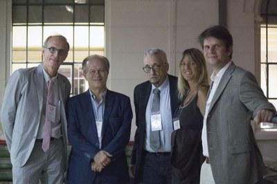 Martin Grossmann, Ministro Renato Janine Ribeiro, Paulo Saldiva, Katharina von Ruckteschell-Katte and Martin Bach