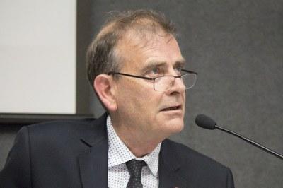 "John Heath at the debate ""The Future of the Universities"" - April 24, 2015"