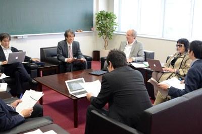Meeting in Science Building B