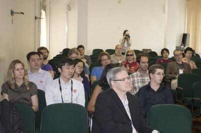 Participants attending the recital
