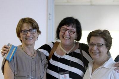 Helena Nader, Regina Markus and Vera Lúcia Fonseca
