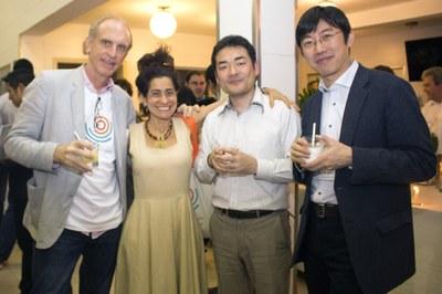 Martin Grossmann, Neka Menna Barreto, Norihito Nakamichi and Dapeng Cai