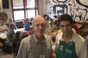 Martin Grossmann with Rodrigo Oliveira (chef) at the Mocotó restaurant - April 19