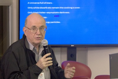 Talk with Eliezer Rabinovici - April 20, 2015