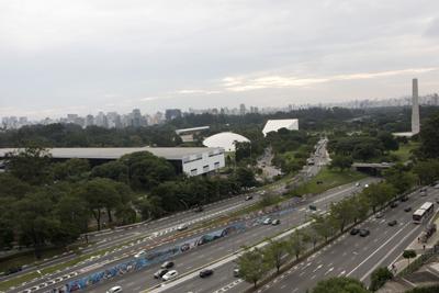 Ibirapuera park from MAC