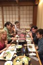Participants of the Intercontinental Academia at the Kisoji Yagoto Restaurant